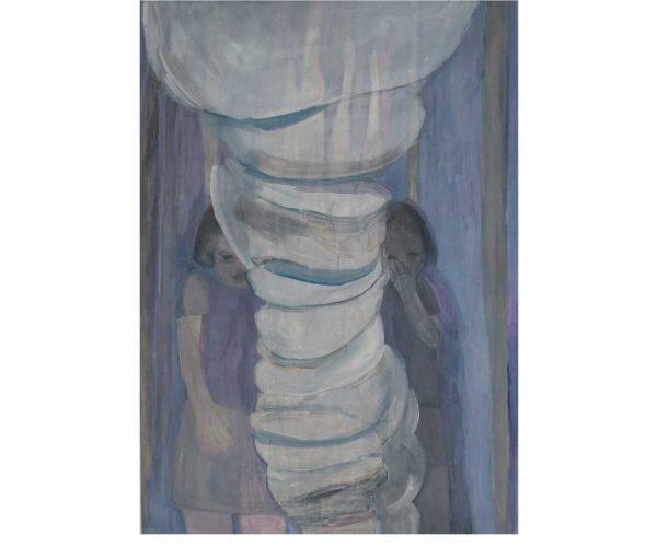 o. T., Öl/Eitempera auf Leinwand, 100x70 cm, 2012