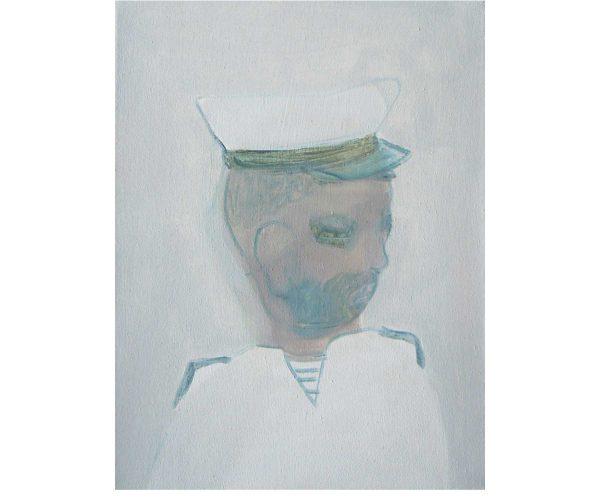 gentleman,  Öl/Eitempera auf Leinwand, 50x40 cm, 2017