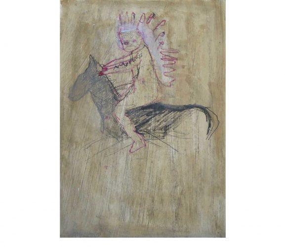 wild vision, Mischtechnik auf Papier, 29,7x21 cm, 2016