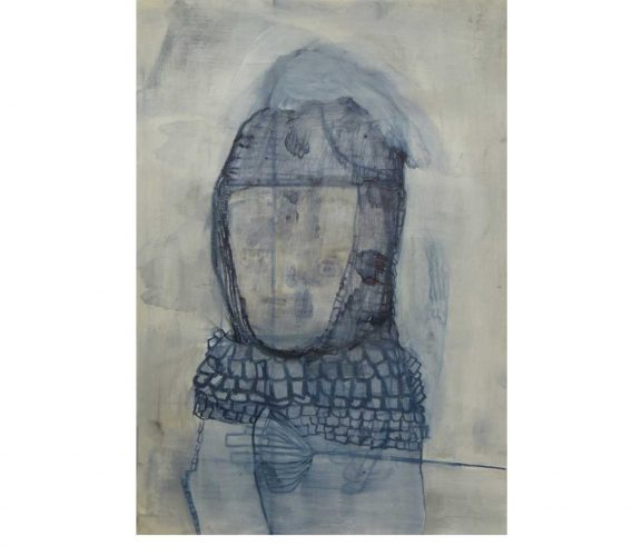 Herold, Mischtechnik auf Papier, 29,7x21 cm, 2016