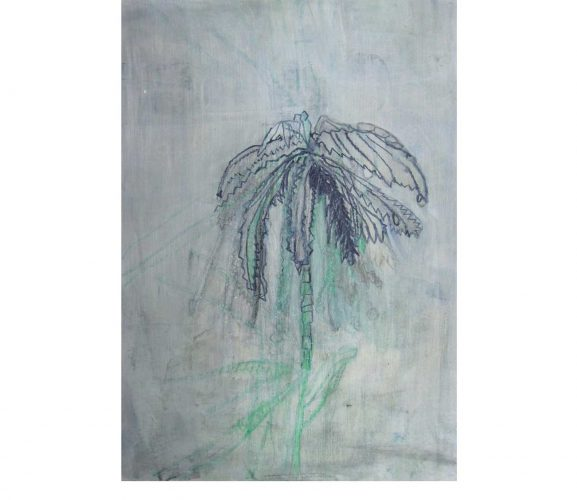 pest plant, Mischtechnik auf Papier, 29,7x21 cm, 2017