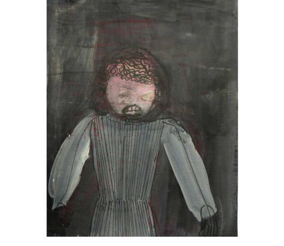 scarecrow, Mischtechnik auf Papier, 29,7x21 cm, 2015