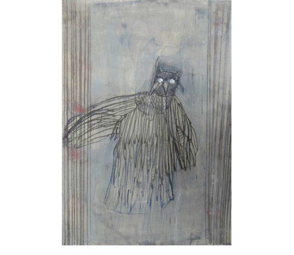 bird, Mischtechnik auf Papier, 29,7x21 cm, 2016