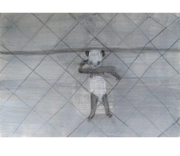 runway, Mischtechnik auf Papier, 21x29,7 cm, 2016